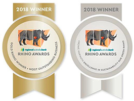 2018 Gold Rhino Winner